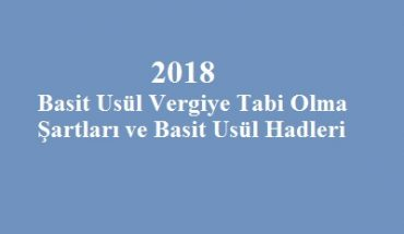 basit usül hadleri şartları 2018